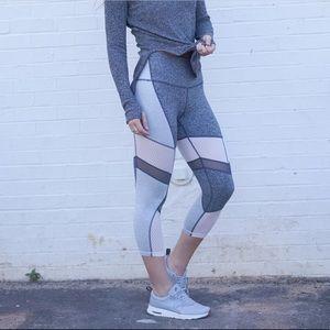 Zella Nordstrom High-Rise Breathable Crop Legging